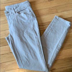 Ann Taylor Modern Fit Gray Jeans